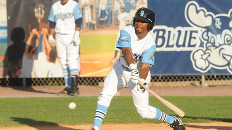 DYSON BECOMES 105TH FORMER BLUE ROCK IN MAJORS   Wilmington