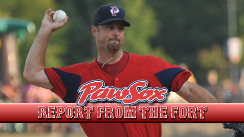 Tim Wakefield Takes The Hill For Pawsox In Loss Pawtucket