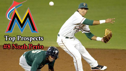 Marlins Top Prospects 8 Noah Perio Baby Cakes