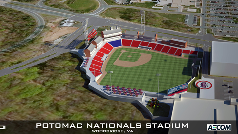 Potomac Nationals Announce New Stadium Plans Potomac Nationals News